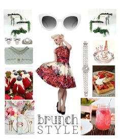 """Brunch with the Girls"" by creation-gallery ❤ liked on Polyvore featuring Chanel and brunch"