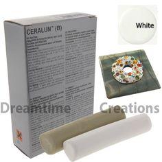 Ceralun Two Part Epoxy Clay by SWAROVSKI 9030/295 White US Version