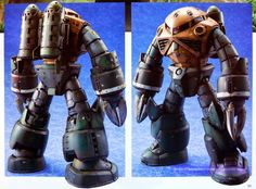RG 1/144 Char's Z'Gok - Painted Build