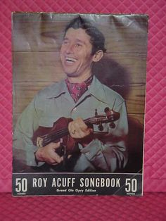 1940s Roy Acuff Grand Ole Opry Songbook With Photos