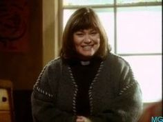Dawn French - The Vicar of Dibley!