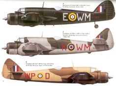 Bristol Type 156 Beaufighters