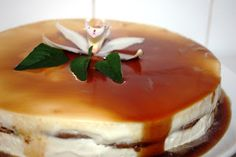 Semi-Frio de caramelo