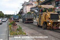 Começa a implantação de asfalto na Avenida Borges de Medeiros