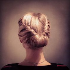 Blonde Updo Twists - Hairstyles How To