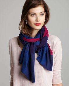 differents noeuds foulard