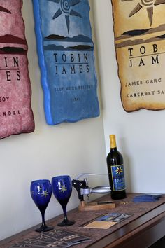 Tobin James Winery Themed Deluxe Mineral Spa Room decor at the Paso Robles Inn