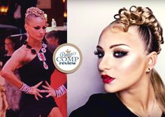 HairStyle & MakeUp like Yulia Zagoruychenko - http://dancecompreview.com/hairstyle-makeup-like-yulia-zagoruychenko/ #dcr #dancecompreview - Everything On Ballroom Dancing