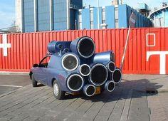 Ridiculous Car Audio System