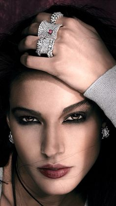 Rosendorff Indulgence Collection Brilliant Diamond Cocktail Rings with Matching Earrings