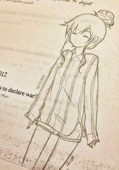 Anime sketch tootokki