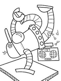 55 Best Robot Coloring Pages Images Coloring Pages For Kids