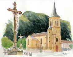 Christ de l'église  Parnac | by Cat Gout