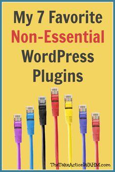 My 7 Favorite NonEssential WordPress Plugins