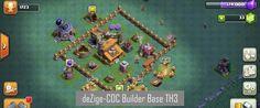 Base Pertahanan COC Builder Base Level 3 (TH3)