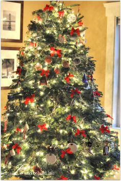 old fashioned cristmas tree - Google Search
