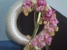 Silk Ribbon Embroidery, Handmade Flowers, Door Wreaths, Bridal Accessories, Floral Wreath, Bows, Fun, Decor, Yandex