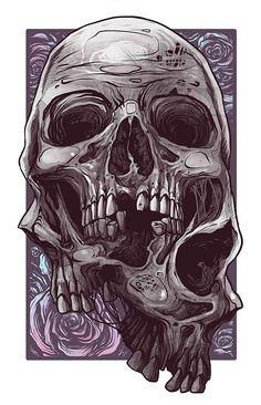 Dark Drawings, Cute Drawings, 3d Sketch, Sketches, Celtic Dragon Tattoos, Artistic Visions, Beautiful Dark Art, Gothic Art, Skull Art