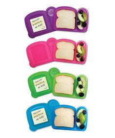 Look at this #zulilyfind! Mom Invented Sandwich Box Set by Mom Invented #zulilyfinds