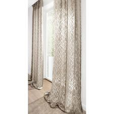 "Curtain ""Ashley"", 1 curtain - living trend stone look - here rarely light and light."