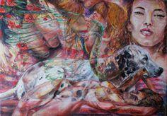 Trasgressione -50x70- acrilico su tela