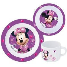 Minnie Mouse, Teller, Toys, Children, Crafts, Flatware, Paper Board, Gifts, Activity Toys
