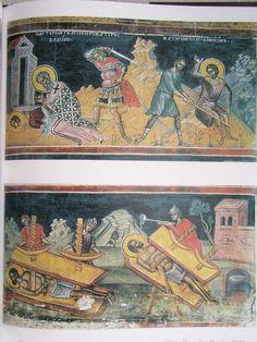 Teofan Cretanul – icoana Orthodox Icons, Sacred Art, Byzantine, Ministry, Vintage World Maps, Scene, Paintings, Life, Paint