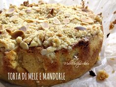 #torta di #mele e #mandorle - Mollichedizucchero