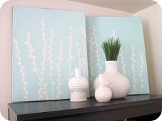 homemade by jill: making wall art using vinyl - two ways
