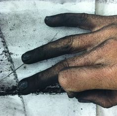 Sarah Walsh / Self Portrait of The Artist's Hand