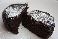 Veganeren: Sjokoladefondant