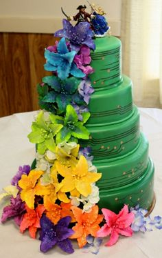 Wedding cakes play a significant part in the wedding party. A wedding cake may be a significant part your big day. The traditional wedding cake is definitely round, but the simple truth is there ar… Pirate Wedding, Geek Wedding, Crazy Wedding, Chic Wedding, Dream Wedding, Amazing Wedding Cakes, Amazing Cakes, Cupcakes, Cupcake Cakes
