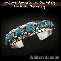 Native American Indian Jewelry Sterling Silver Bracelet Wilbert Benally http://item.rakuten.co.jp/auc-wildhearts/na2326r73/