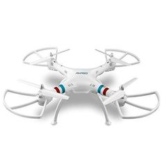AKASO X8C 2.4GHz 4.5CH 6 Axis Gyro RC Quadcopter with HD Camera 360-degree Rolling Mode 2 RTF LED RC Spy Drone
