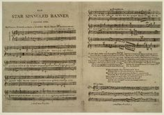 "Star spangled banner: a patriotic song. [notated music]. Library of Congress Music Division. LC Blog - Bringing the ""Banner"" to Light."