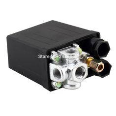 7.38$  Watch here - http://alielx.shopchina.info/go.php?t=32804631399 - Free shipping High Quality 1 Pcs Heavy Duty Air Compressor Pressure Switch Control Valve 220VAC 90 PSI -120 PSI DropShipping 7.38$ #SHOPPING