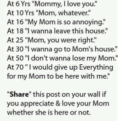 Child's reaction to mom. Wish some of these weren't true.