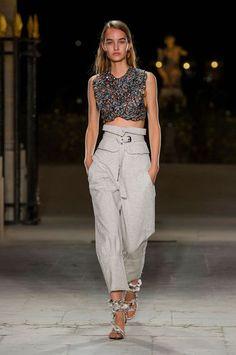 Tendance mode été 2017 Isabel Marant taille haute