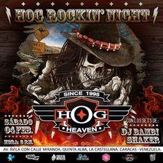 "Hog Heaven Bar presenta ""Hog Rockin´ Night"" con los sets de Dj Bambi Shaker http://crestametalica.com/hog-heaven-bar-presenta-hog-rockin-night-con-los-sets-de-dj-bambi-shaker/ vía @crestametalica"