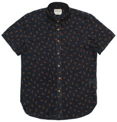 BWGH - Fukuro Bird Print Short Sleeved Shirt   HUH. Store (£70.00) - Svpply