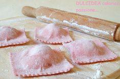 Pasta Recipes, Cooking Recipes, Pasta Maker, Polenta, Gnocchi, Ravioli, Relleno, Italian Recipes, Food And Drink