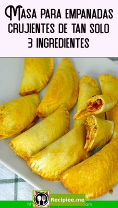 Crispy empanada dough with only 3 ingredients to make at home Best Pizza Dough Recipe, Tortilla Press, Peruvian Cuisine, Good Pizza, I Foods, Food Inspiration, Mexican Food Recipes, Brunch, Food And Drink
