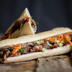 Beef Banh Mi Sandwich (1536 x 1536) [OC] - Click the PIN to see more!