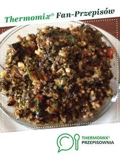 Tapenada z oliwek jest to przepis stworzony przez użytkownika MaKro. Ten przepis na Thermomix<sup>®</sup> znajdziesz w kategorii Przystawki/Sałatki na www.przepisownia.pl, społeczności Thermomix<sup>®</sup>. Grains, Rice, Beef, Vegetables, Food, Thermomix, Meat, Essen, Vegetable Recipes
