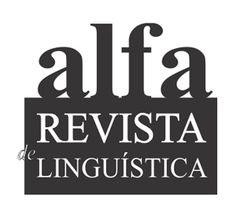 Alfa : Revista de Linguística (FCL/CAr - Faculdade de Ciências e Letras-Unesp)