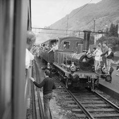 75 Jahre Gotthardbahn, Vorbereitung und Fest. Com_M06-0181-0003 Swiss People, Swiss Railways, Model Trains, Fancy, History, Vehicles, Trains, Model Train, Car