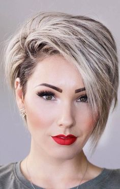 97 Best Pixie Haircut Looks for Summer, Runway Inspired Spring 2018 Hair Trends, 34 Latest Long Pixie Cuts You Ll Love for Summer Summer Hair Styles 2018 2019 Hair Wentworth, 30 Trendy Pixie Hairstyles Women Short Hair Cuts Popular. Pixie Haircut For Thick Hair, Short Hairstyles For Thick Hair, Short Pixie Haircuts, Pixie Hairstyles, Curly Hair Styles, Hairstyle Short, Pixie Haircut For Round Faces, Trendy Hairstyles, Short Hair With Undercut