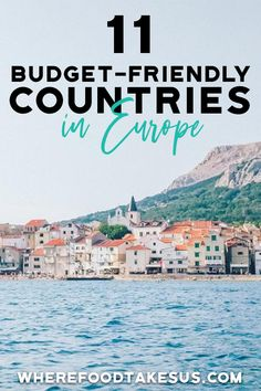 11 Cheap European Destinations You Need to Visit! - Booking a trip to Europe but want to keep your wallet happy? Check out our top 11 cheap European de - Europe On A Budget, Europe Travel Tips, European Travel, Budget Travel, Italy Travel, Travel Guides, European Trips, Travel Europe Cheap, European Vacation