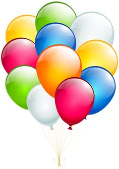 Balloons Transparent Clip Art