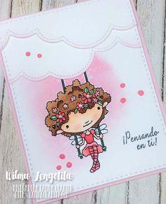 Latina Crafter - Sellos en Español: Desde El Taller de Wilma: Garden Swing